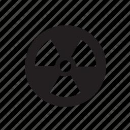 radioactive, radioactivity, science icon
