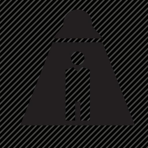 abduction, extra-terrestrial, extraterrestrial, man, people, ufo icon