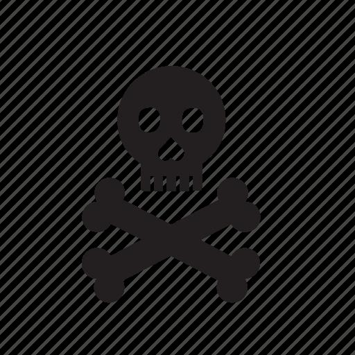 death, head, skeleton, skull icon