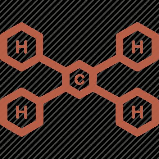 ch4, equation, formula, science, testing icon