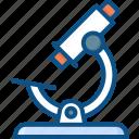 biology, examine, health, lab, microscope icon icon