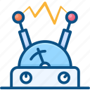 circuit, current, electronic, resistor, voltage icon icon
