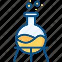 biology, chemistry, laboratory, school, science, testing icon icon