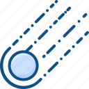 asteroid, meteorite, space icon icon