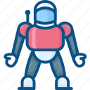 astronaut, cosmos, robot, science, space, suit icon icon