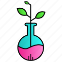 botany, chemistry, ecolab, experiment, science icon