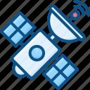 gps, satellite, signal, space, space communication icon, sputnik icon