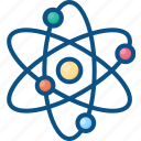 atom, atomic, chemistry, energy, nuclear, physics, science icon icon