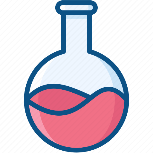 balloon flask, boiling flask, flask, lab flask icon icon