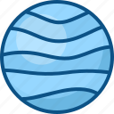 neptune, planet, space, star icon icon