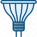 bulb, halogen, lamp, light, lightbulb icon icon