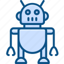 artificial, intelligence, robotics, technology icon icon
