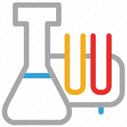 flask, lab, lab experiment, laboratory icon