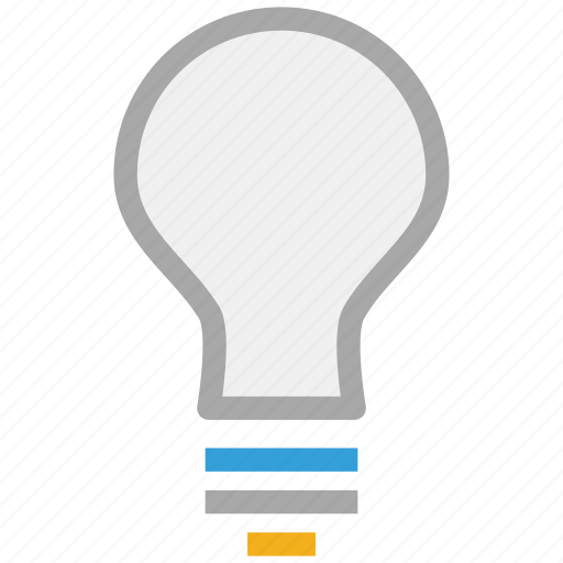 bulb, idea, light bulb, power icon