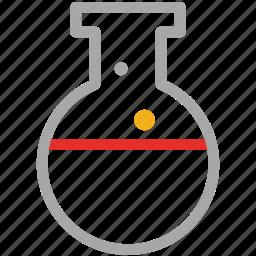 experiment, laboratory, liquid, test icon