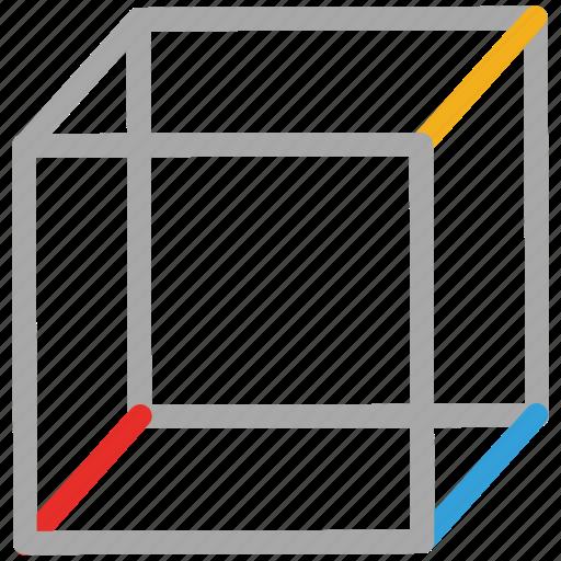 box, cubic, cubic shape, polygon icon