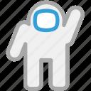 astronaut, nasa, spaceman, spaceship icon