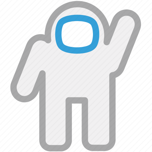 astronaut, nasa, spaceman, spaceship icon