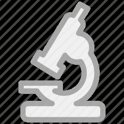 biology, laboratory, microscope, research icon