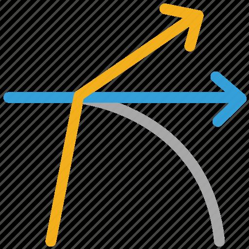 arrows, directionsm, shape, shapes icon