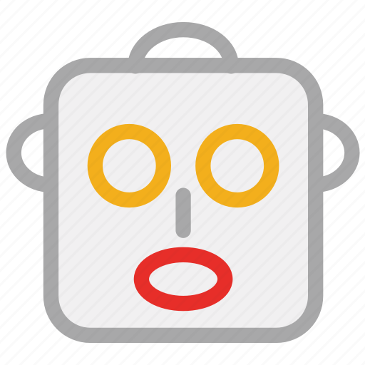 avatar, face, robot, robot head icon