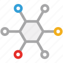 bug, infection, virus, virus molecule icon
