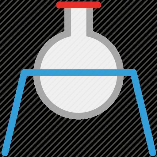 acid, analysis, beaker, flask icon