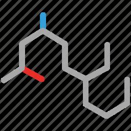 chemistry, hexagon, hexagonal symbol, science icon