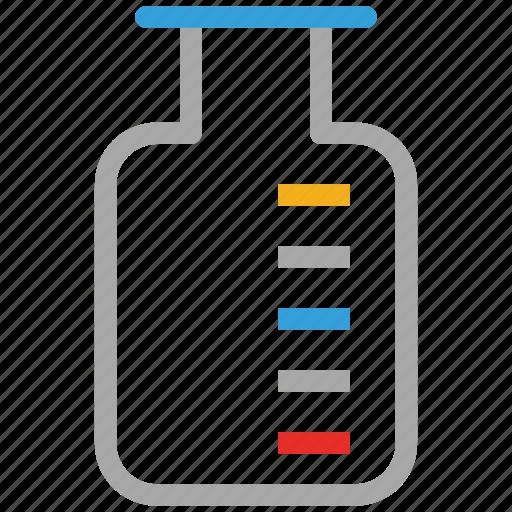 beaker, lab beaker, measuring beaker, research beaker icon