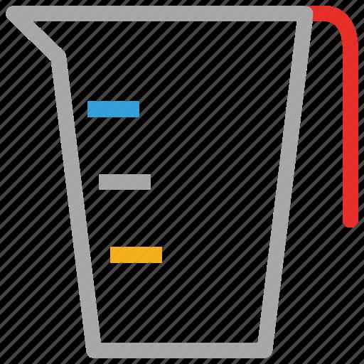 lab, measuring jug icon