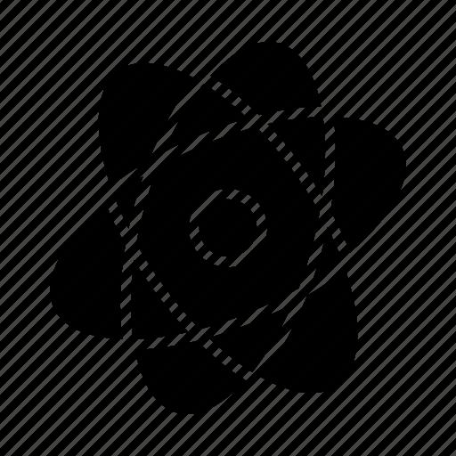 atom, school, scientific, study icon