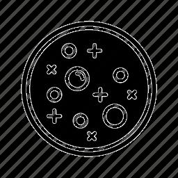 dish, petri, school, scientific, study icon