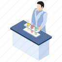 chemistry laboratory, lab experiment, lab worker, laboratory test, scientific laboratory icon