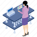 lab experiment, lab worker, laboratory test, laboratory test tube, scientific lab