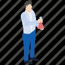 chemistry flask, lab experiment, lab worker, laboratory test, scientific lab icon
