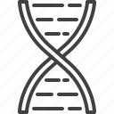 dna, microbiology, molecule, structure icon