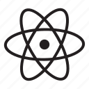 atom, chemistry, experiment, laboratory, physics, research, science icon