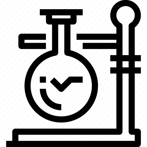chemistry, flask, laboratory, science, testing icon