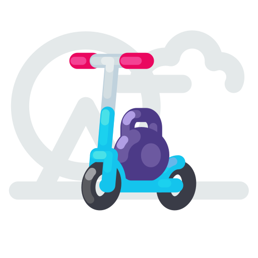 capacity, kick, max, scooter, weight icon