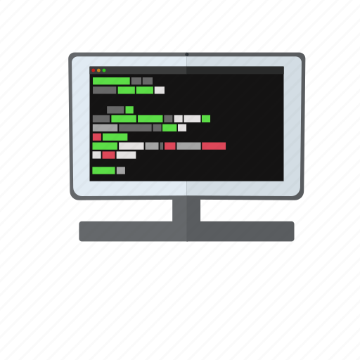 code, coding, haker, html, javascript, mac, screen icon