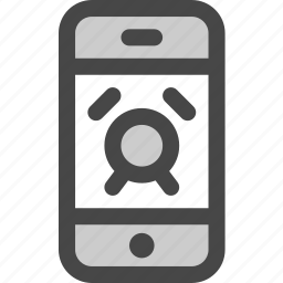 alarm, device, message, phone, screen, timer icon