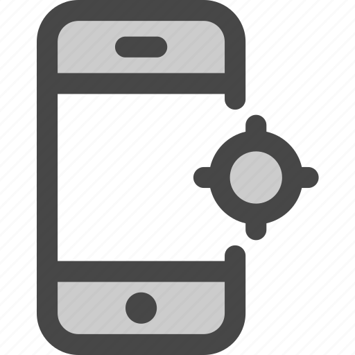 device, location, map, phone, screen, tracking icon