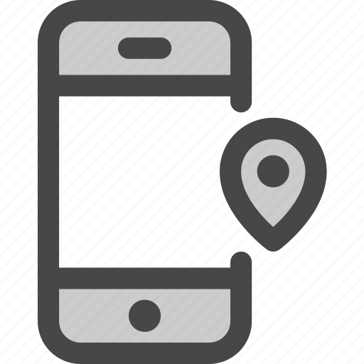 device, location, message, mobile, phone, pin, screen icon