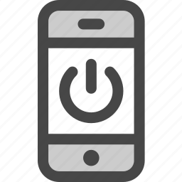 device, message, phone, power, screen, standby icon
