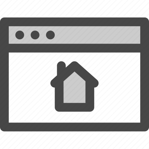 browser, computer, home, homepage, internet, online, website icon