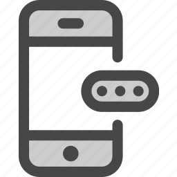 access, account, mobile, password, phone, privacy, security icon