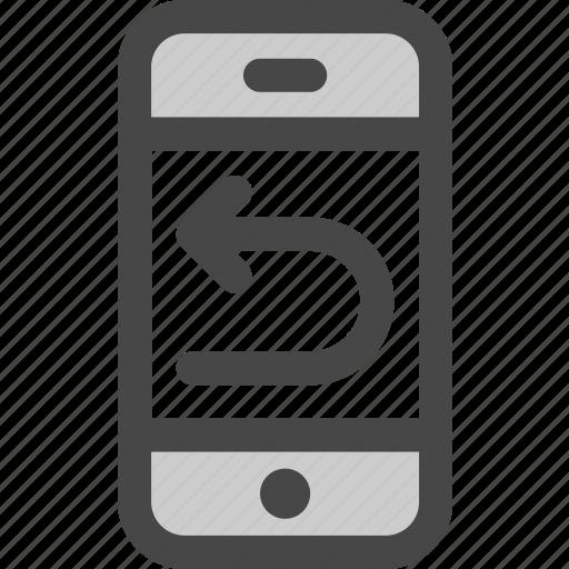 back, history, internet, mobile, phone, repeat, undo icon