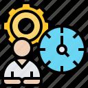 estimate, evaluation, performance, task, time
