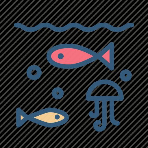 animal, fish, sea, water icon