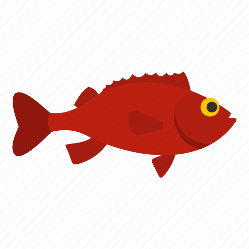 bass, food, marine, ocean, perch, rockfish, sea icon
